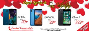 San valentino offerta telefoni